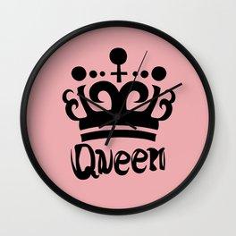 Queen Levy Wall Clock