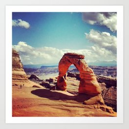 THE Arch of all Arches: Moab, Utah Art Print