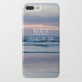 Beach Glow Soothes Soul iPhone Case