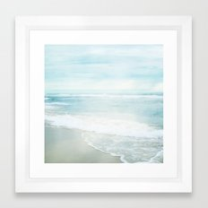 Feel the Sea Framed Art Print