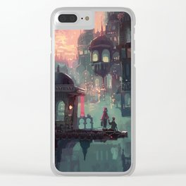Can We Stay in My World for Just One More Minute? Clear iPhone Case