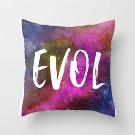 EVOL - Reversed LOVE Throw Pillow