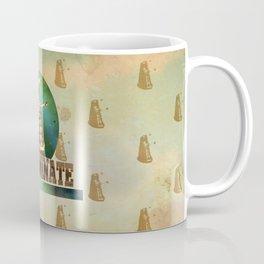 Doctor Who: Dalek Print Coffee Mug