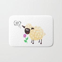 Little Sheep Bath Mat