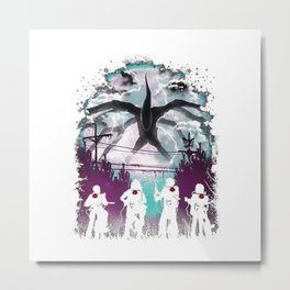 stranger thing - ghostbusters Metal Print