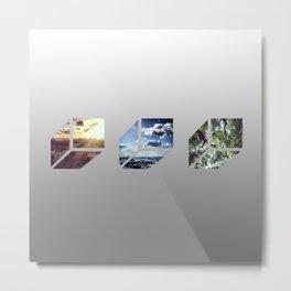 Elements FLO Metal Print