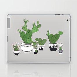 Cactus Love (in gray) Laptop & iPad Skin
