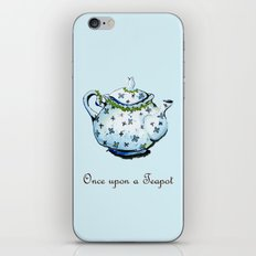 Once Upon A Teapot iPhone & iPod Skin