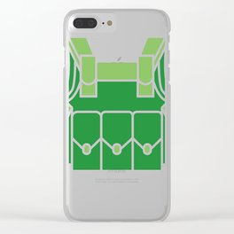 Military Soldier Flak Vest Halloween Costume  Clear iPhone Case