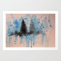Permafrost. Art Print