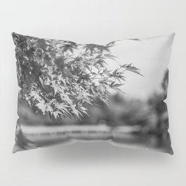 Autumn Scene (Black and White) Pillow Sham