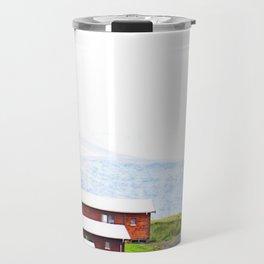Iceland Bungalows Travel Mug