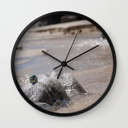 Adventures at the beach Wall Clock
