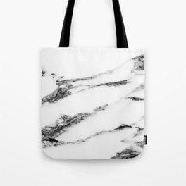 Marble (White) Tote Bag