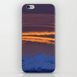 """""""Sunrise at the mountains"""" iPhone Skin"""
