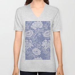 """William Morris """"Chrysanthemum"""" 8. Unisex V-Neck"""