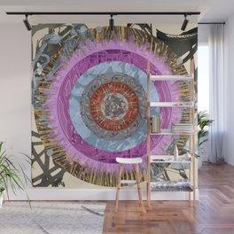 Mandala of a Lost Dog Wall Mural