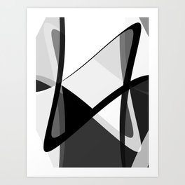 Infinity Waves Art Print