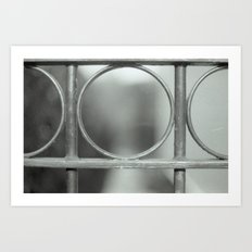Through the gate Art Print
