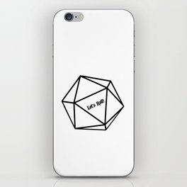 Let's Roll! D20 iPhone Skin