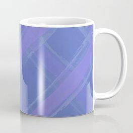 Purple Plaid Coffee Mug