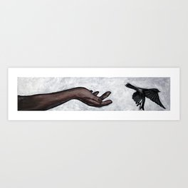 letting go... Art Print