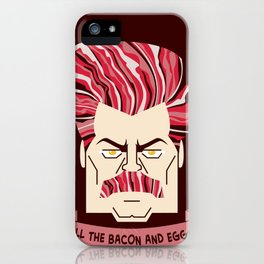 All Your Bacon & Eggs iPhone Case