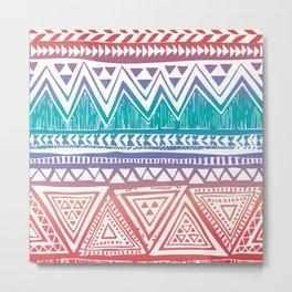 Aztec Pattern No. 7 Metal Print