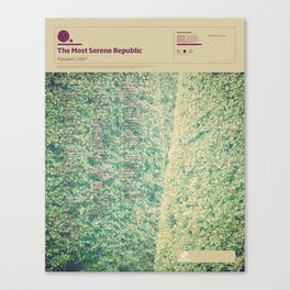 The Visual Mixtape 2010 | Population | 20 / 25 Canvas Print