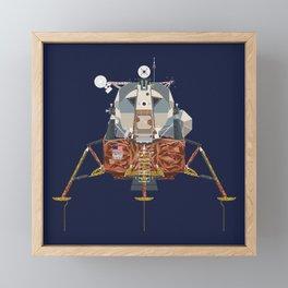 Apollo Lunar Module Framed Mini Art Print