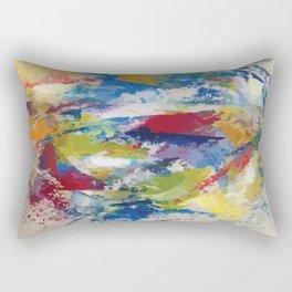 Abstract Oils Rectangular Pillow