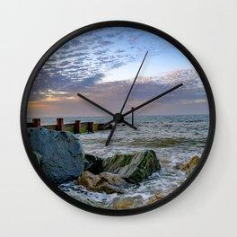 Cart Gap Beach, Norfolk Wall Clock