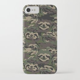 Sloth Camouflage iPhone Case
