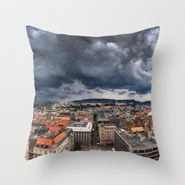 St. Stephen's Basilica Budapest Hungary Ultra HD Throw Pillow