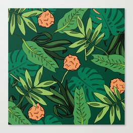 Deep In The Jungle... Canvas Print