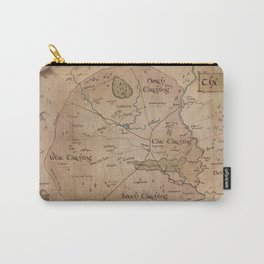 Map of the Shire Carry-All Pouch