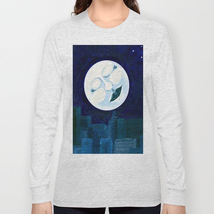 Slumbering Moon Long Sleeve T-shirt