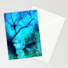 Upside Down World. © S. Montague. Stationery Cards