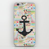 anchor iPhone & iPod Skins featuring Anchor by Berreca
