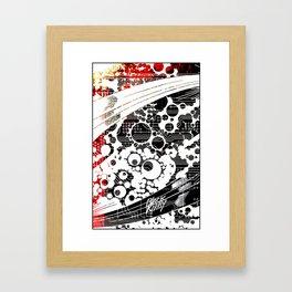 BK abstrakt 1 Framed Art Print