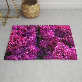 flwers in lilla Rug