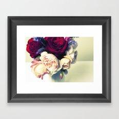 Pink, Red & Purple Framed Art Print