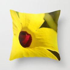 Vibrant Yellow Throw Pillow