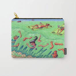 beached at the beach Carry-All Pouch