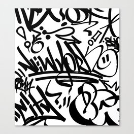 NY Street Canvas Print