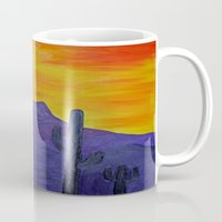 mexico Mugs featuring Mexico by Monica Georg-Buller
