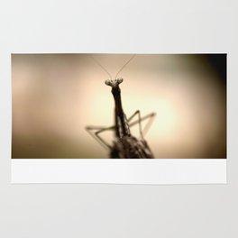 Praying mantis Rug