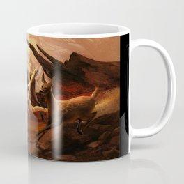 Running Deers Coffee Mug