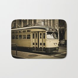 San Francisco Street Car Bath Mat