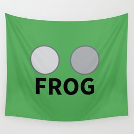 FROG eyes Wall Tapestry